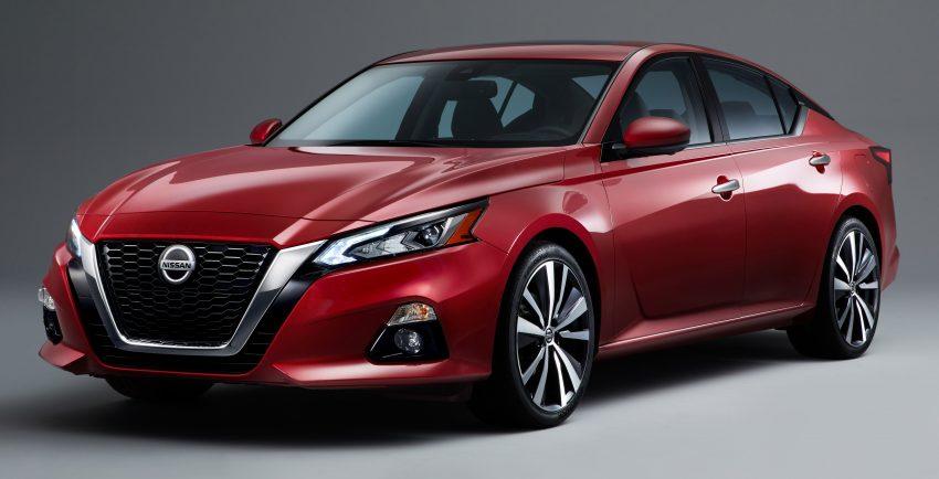 美国发布全新 Nissan Altima,搭载可变压缩比涡轮引擎 Image #64089