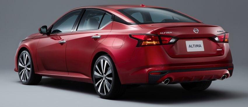 美国发布全新 Nissan Altima,搭载可变压缩比涡轮引擎 Image #64092