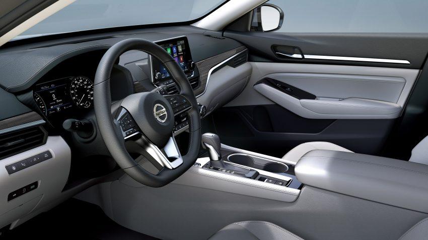 美国发布全新 Nissan Altima,搭载可变压缩比涡轮引擎 Image #64100
