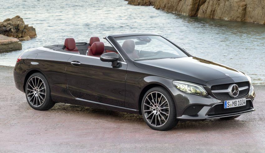 Mercedes-Benz C-Class Coupe 与 Cabriolet 小改款发布 Mercedes ...