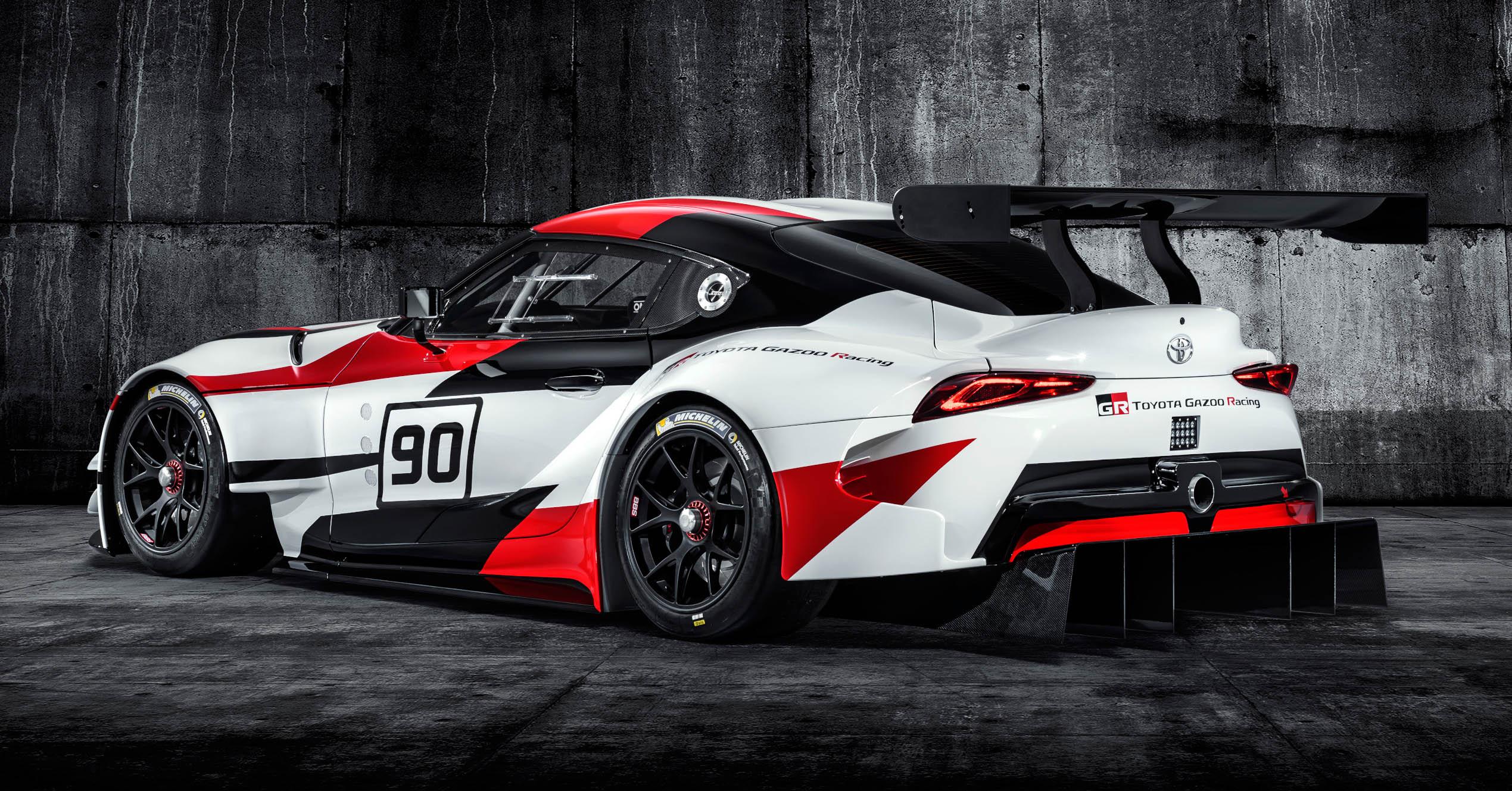 牛魔王传奇回归,toyota Gr Supra Racing Concept Toyota Gr Supra