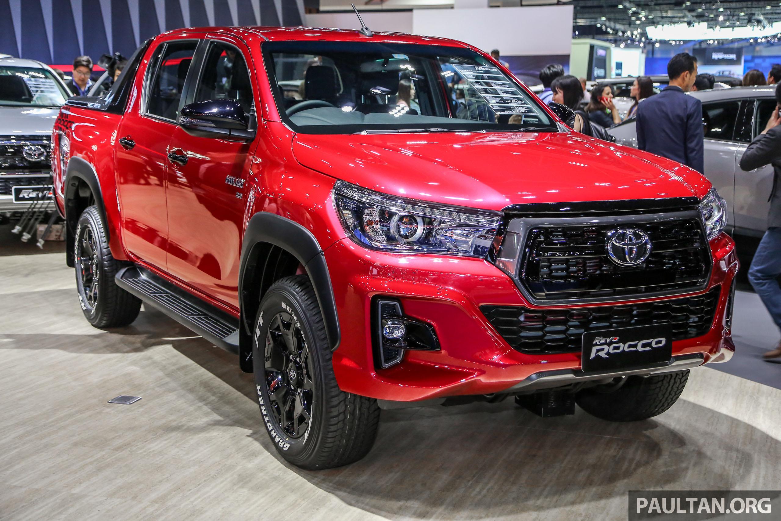 2018 曼谷车展:toyota Hilux Revo Rocco,顶配版皮卡 Bims2018 Toyota