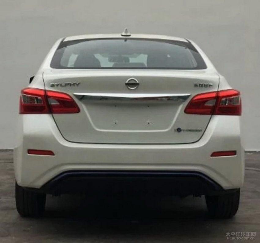 下周北京车展首发,Nissan Sylphy 纯电动版即将面世 Image #66033
