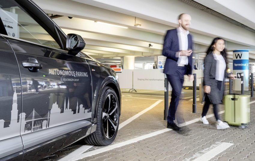 Volkswagen 发布更先进自动停车系统, 2020年大量投产 Image #66081