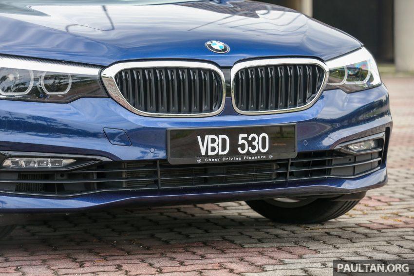试驾:BMW 530e Sport, 以更便宜价格入手一辆入门5系列 Image #71103