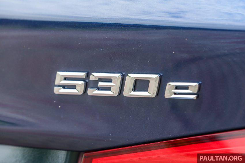 试驾:BMW 530e Sport, 以更便宜价格入手一辆入门5系列 Image #71118