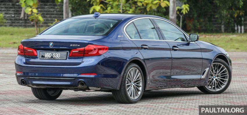试驾:BMW 530e Sport, 以更便宜价格入手一辆入门5系列 Image #71087