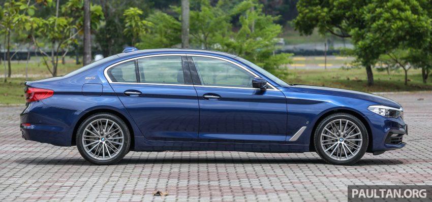 试驾:BMW 530e Sport, 以更便宜价格入手一辆入门5系列 Image #71091