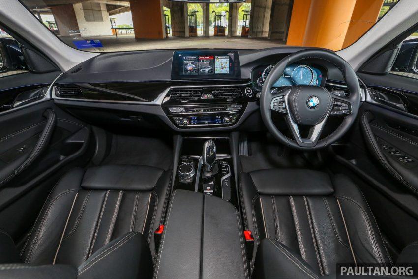 试驾:BMW 530e Sport, 以更便宜价格入手一辆入门5系列 Image #71123