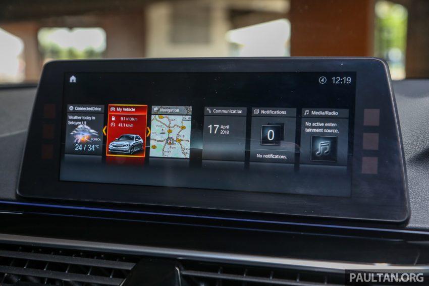 试驾:BMW 530e Sport, 以更便宜价格入手一辆入门5系列 Image #71133