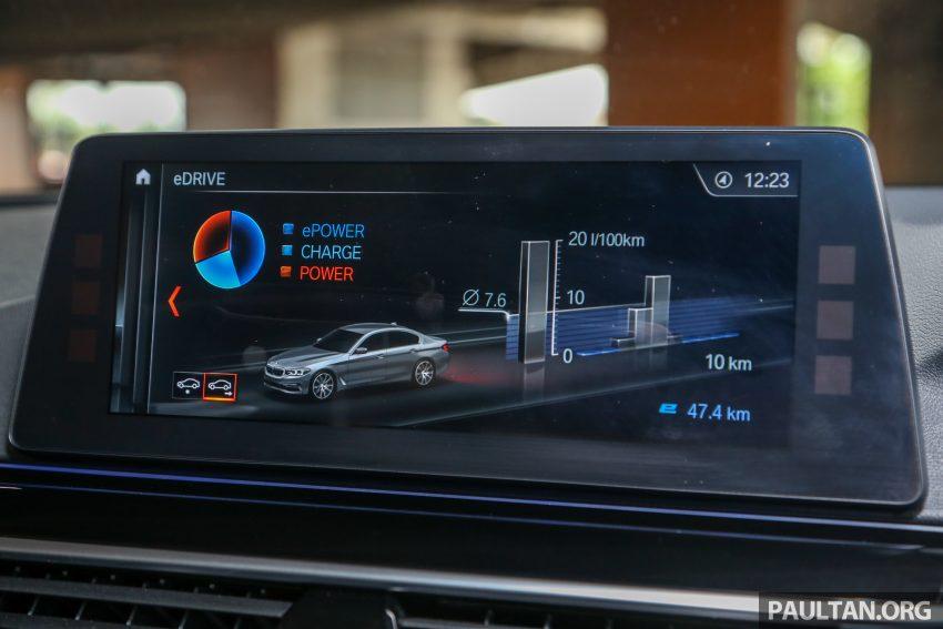 试驾:BMW 530e Sport, 以更便宜价格入手一辆入门5系列 Image #71152