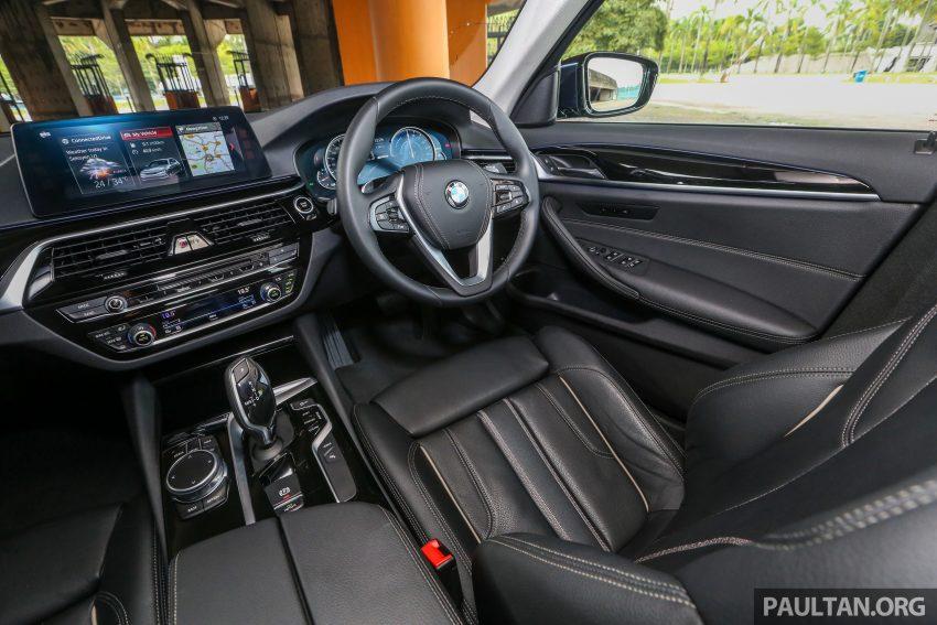 试驾:BMW 530e Sport, 以更便宜价格入手一辆入门5系列 Image #71166