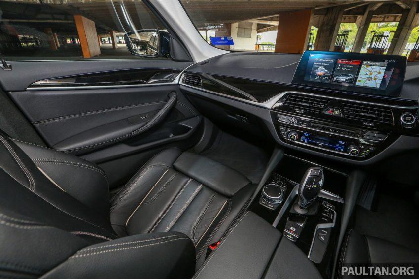 试驾:BMW 530e Sport, 以更便宜价格入手一辆入门5系列 Image #71167