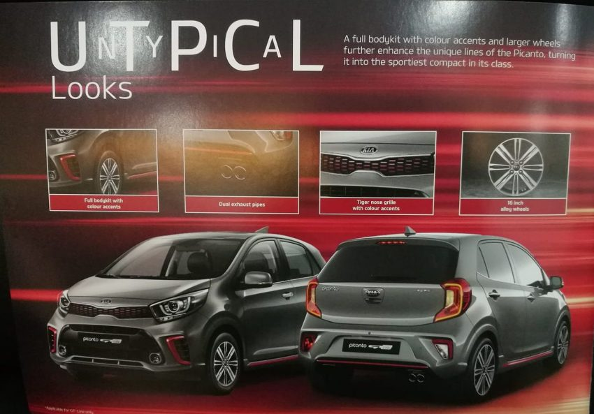 本地 Kia Picanto 即将迎来 KX 及 GT-Line 两个新版本? Image #70199