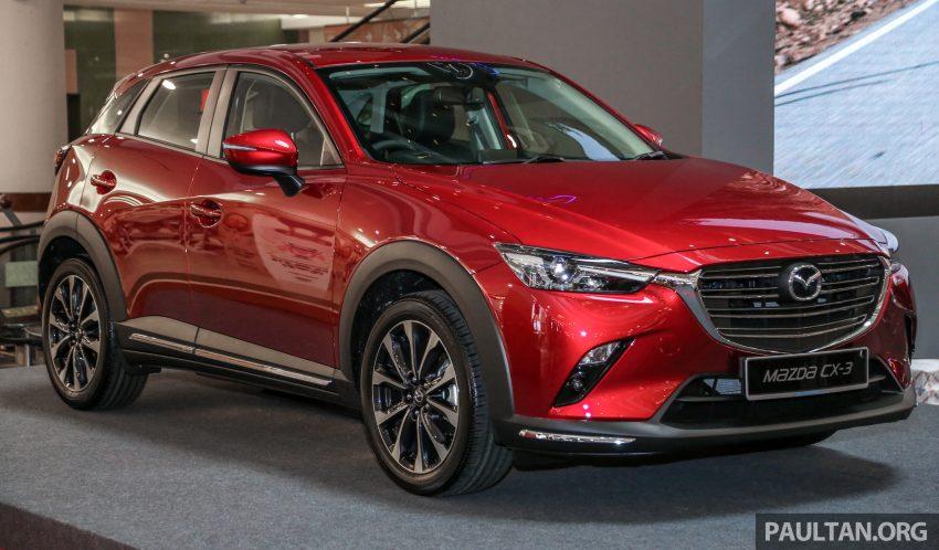 小改款 Mazda CX-3 开放预览,现已接受预订,RM121K Image #70840