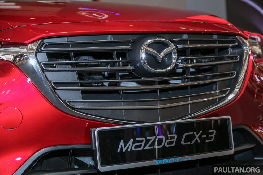 小改款 Mazda CX-3 开放预览,现已接受预订,RM121K Image #70852