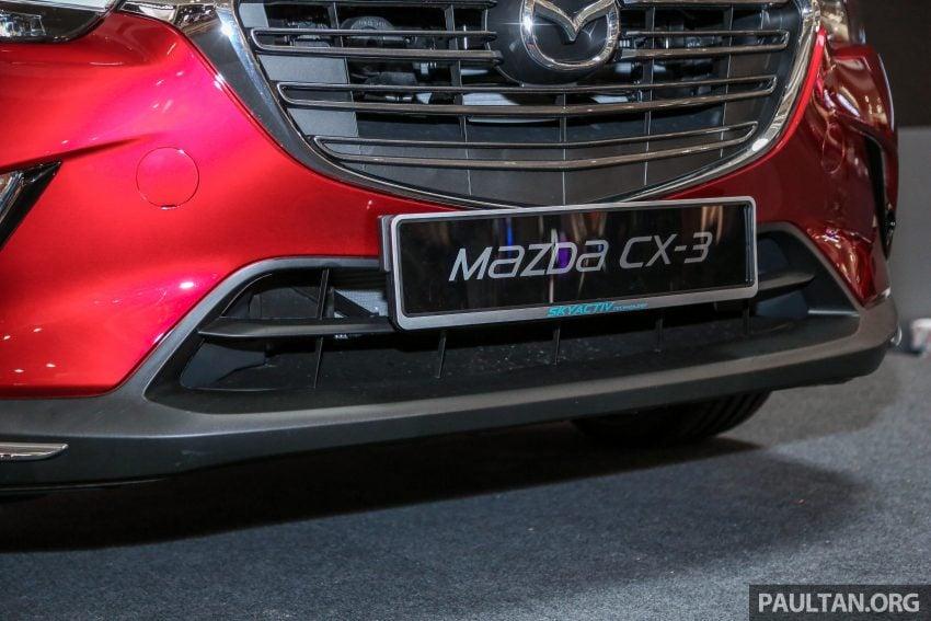 小改款 Mazda CX-3 开放预览,现已接受预订,RM121K Image #70853