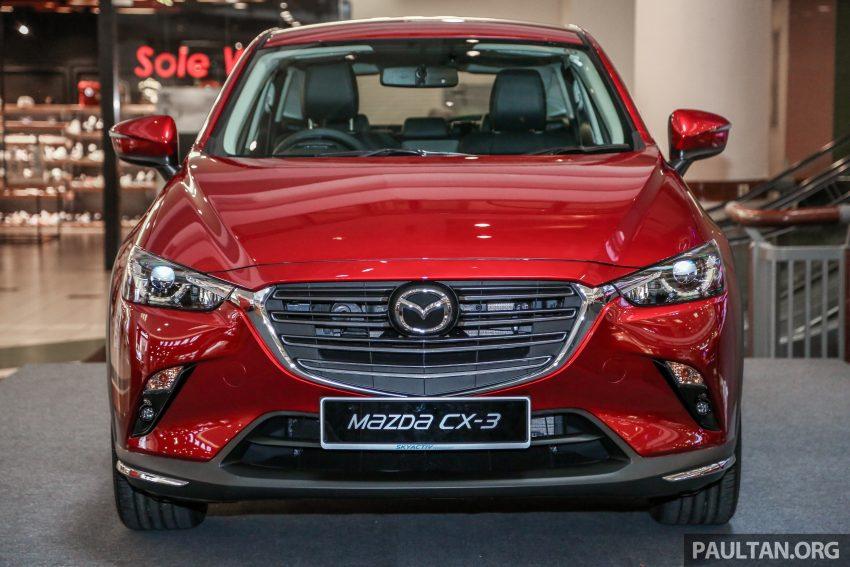 小改款 Mazda CX-3 开放预览,现已接受预订,RM121K Image #70845