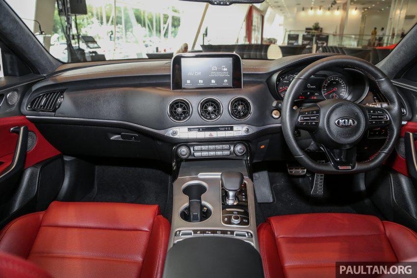 Kia Stinger 本地正式上市,两具引擎一起来,RM240K起 Image #72211