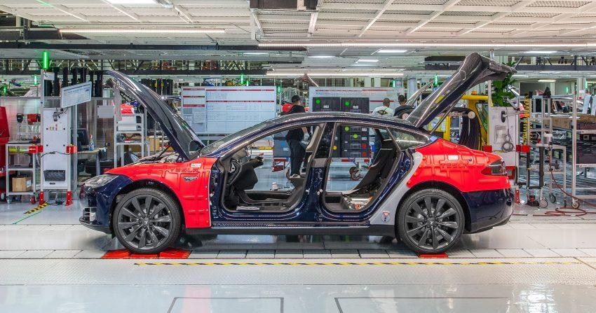 计划年产50万辆电动车,Tesla 将于中国上海建超级工厂 Image #72304