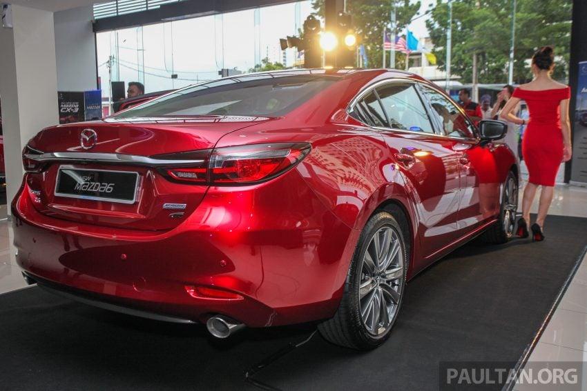2018年式小改款 Mazda 6 登陆大马,更帅气外表,引擎重新调校,4个等级包括 Touring 车型,原厂较后公布新车价 Image #73957