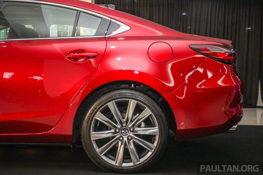 2018年式小改款 Mazda 6 登陆大马,更帅气外表,引擎重新调校,4个等级包括 Touring 车型,原厂较后公布新车价 Image #73961