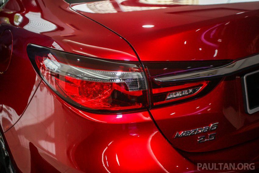2018年式小改款 Mazda 6 登陆大马,更帅气外表,引擎重新调校,4个等级包括 Touring 车型,原厂较后公布新车价 Image #73963