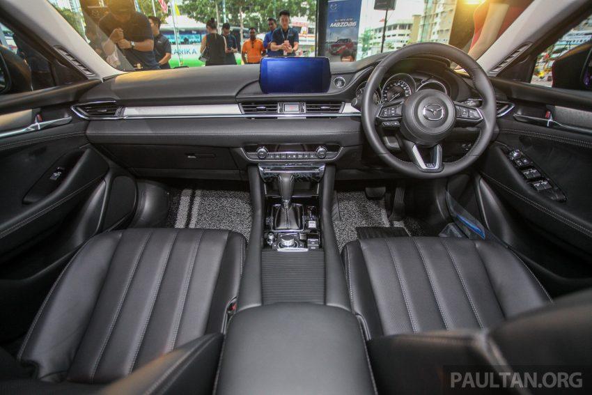 2018年式小改款 Mazda 6 登陆大马,更帅气外表,引擎重新调校,4个等级包括 Touring 车型,原厂较后公布新车价 Image #73969