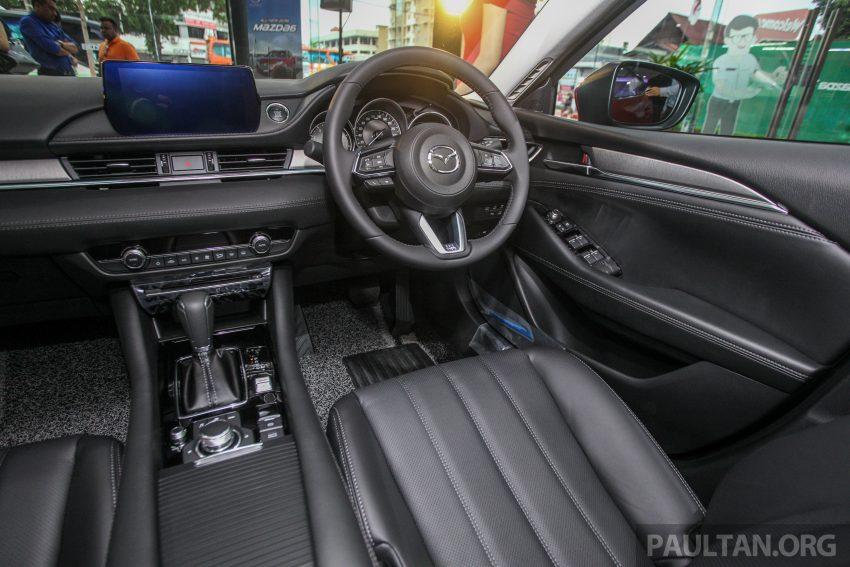 2018年式小改款 Mazda 6 登陆大马,更帅气外表,引擎重新调校,4个等级包括 Touring 车型,原厂较后公布新车价 Image #73970