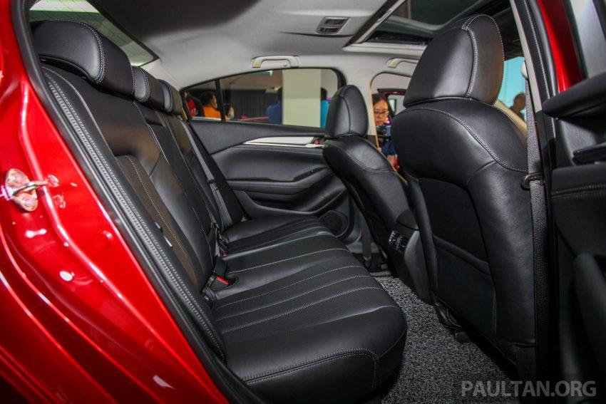 2018年式小改款 Mazda 6 登陆大马,更帅气外表,引擎重新调校,4个等级包括 Touring 车型,原厂较后公布新车价 Image #73974