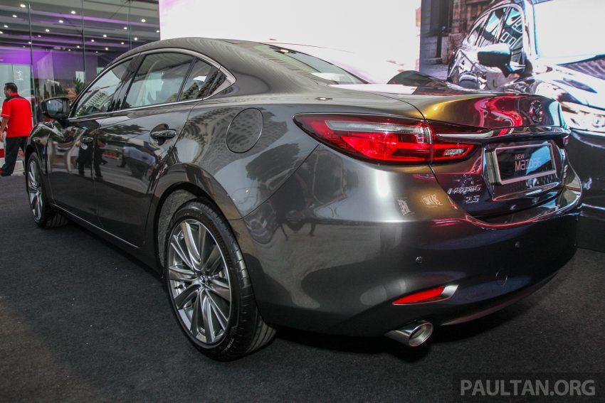 2018年式小改款 Mazda 6 登陆大马,更帅气外表,引擎重新调校,4个等级包括 Touring 车型,原厂较后公布新车价 Image #73993
