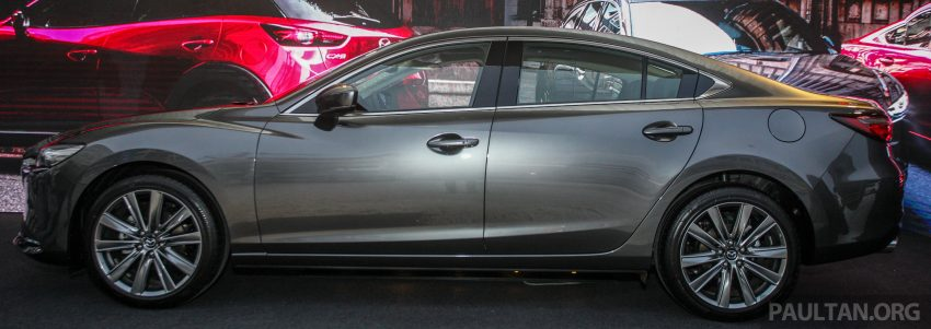 2018年式小改款 Mazda 6 登陆大马,更帅气外表,引擎重新调校,4个等级包括 Touring 车型,原厂较后公布新车价 Image #73997