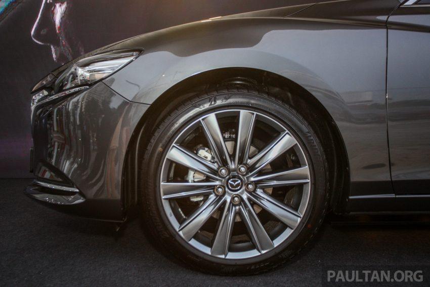 2018年式小改款 Mazda 6 登陆大马,更帅气外表,引擎重新调校,4个等级包括 Touring 车型,原厂较后公布新车价 Image #73998