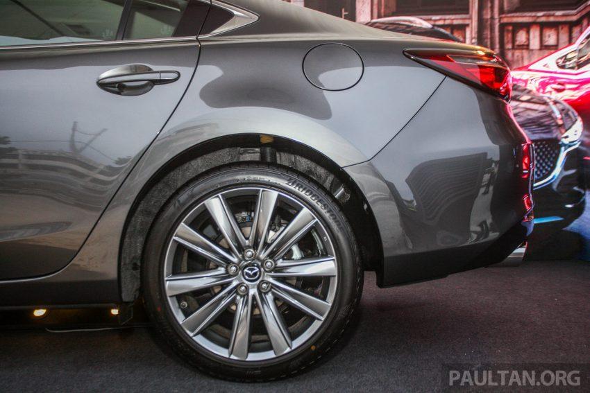 2018年式小改款 Mazda 6 登陆大马,更帅气外表,引擎重新调校,4个等级包括 Touring 车型,原厂较后公布新车价 Image #73999