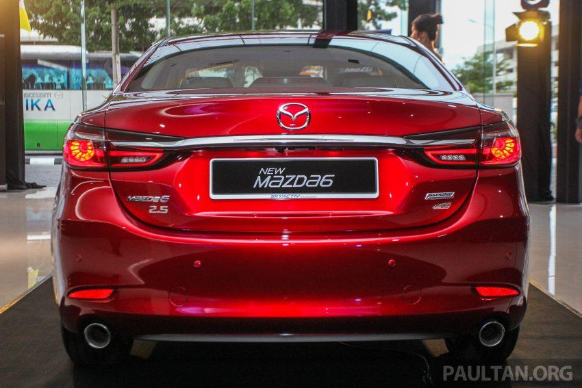 2018年式小改款 Mazda 6 登陆大马,更帅气外表,引擎重新调校,4个等级包括 Touring 车型,原厂较后公布新车价 Image #73954