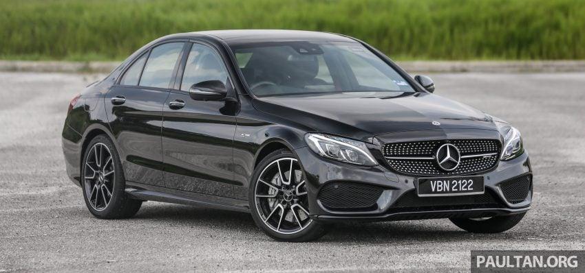 试驾:Mercedes-AMG C 43 / GLC 43,如假包换的 AMG Image #76055