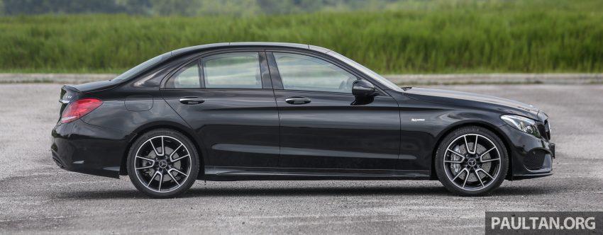 试驾:Mercedes-AMG C 43 / GLC 43,如假包换的 AMG Image #76067