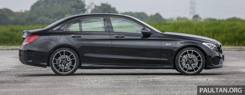 试驾:Mercedes-AMG C 43 / GLC 43,如假包换的 AMG Image #76068