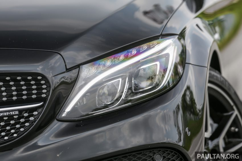 试驾:Mercedes-AMG C 43 / GLC 43,如假包换的 AMG Image #76070