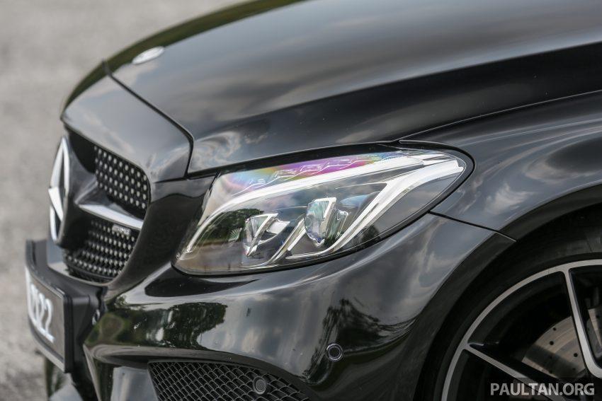 试驾:Mercedes-AMG C 43 / GLC 43,如假包换的 AMG Image #76071