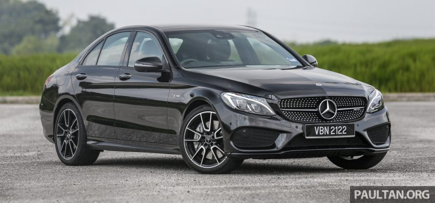 试驾:Mercedes-AMG C 43 / GLC 43,如假包换的 AMG Image #76056
