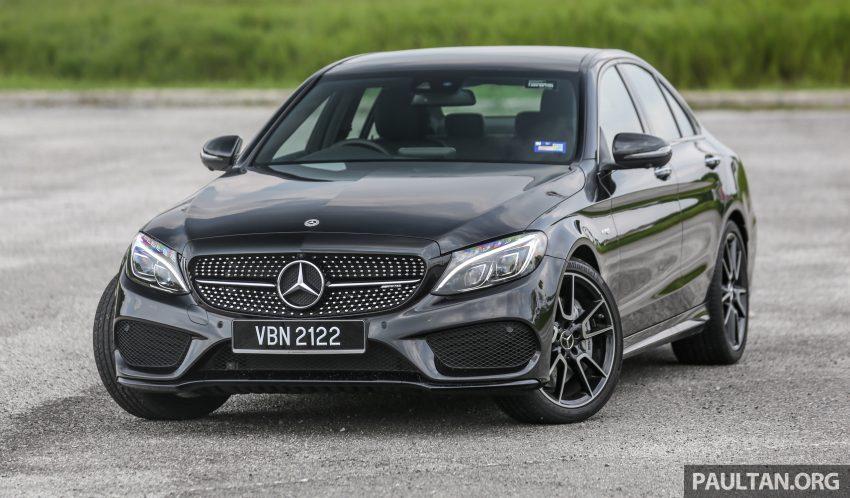 试驾:Mercedes-AMG C 43 / GLC 43,如假包换的 AMG Image #76057