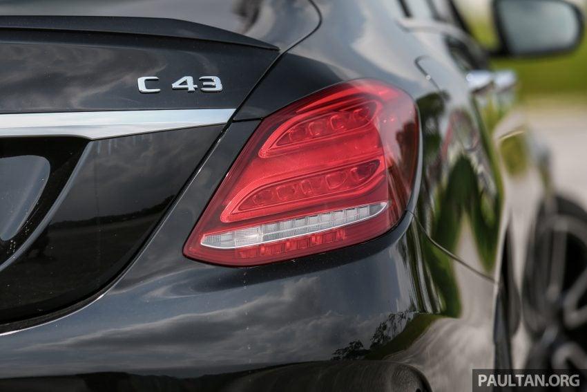 试驾:Mercedes-AMG C 43 / GLC 43,如假包换的 AMG Image #76084