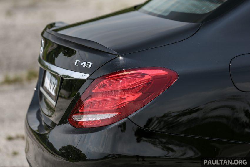 试驾:Mercedes-AMG C 43 / GLC 43,如假包换的 AMG Image #76085