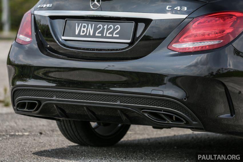 试驾:Mercedes-AMG C 43 / GLC 43,如假包换的 AMG Image #76087