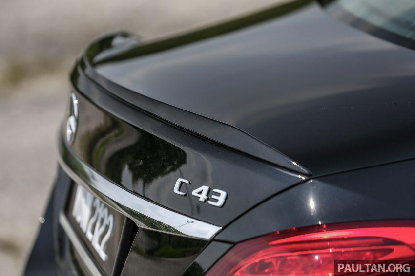 试驾:Mercedes-AMG C 43 / GLC 43,如假包换的 AMG Image #76090