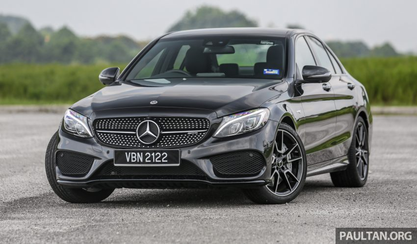 试驾:Mercedes-AMG C 43 / GLC 43,如假包换的 AMG Image #76058