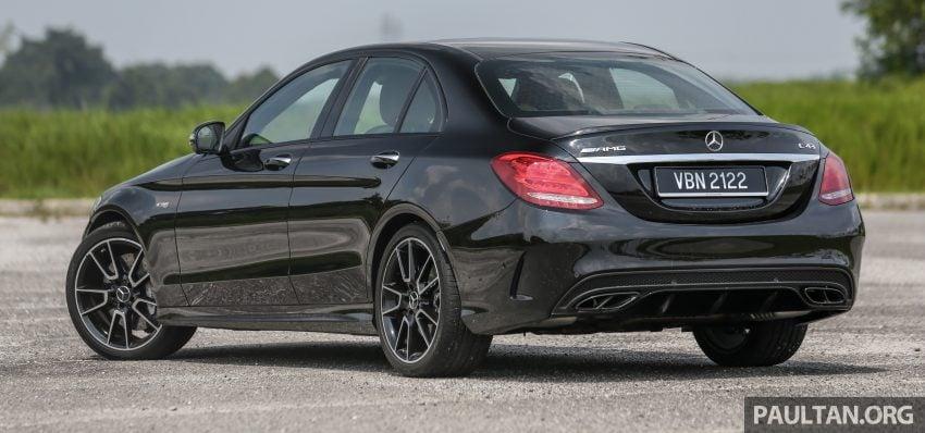 试驾:Mercedes-AMG C 43 / GLC 43,如假包换的 AMG Image #76060
