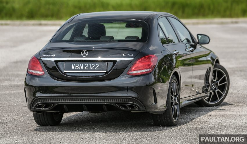 试驾:Mercedes-AMG C 43 / GLC 43,如假包换的 AMG Image #76061