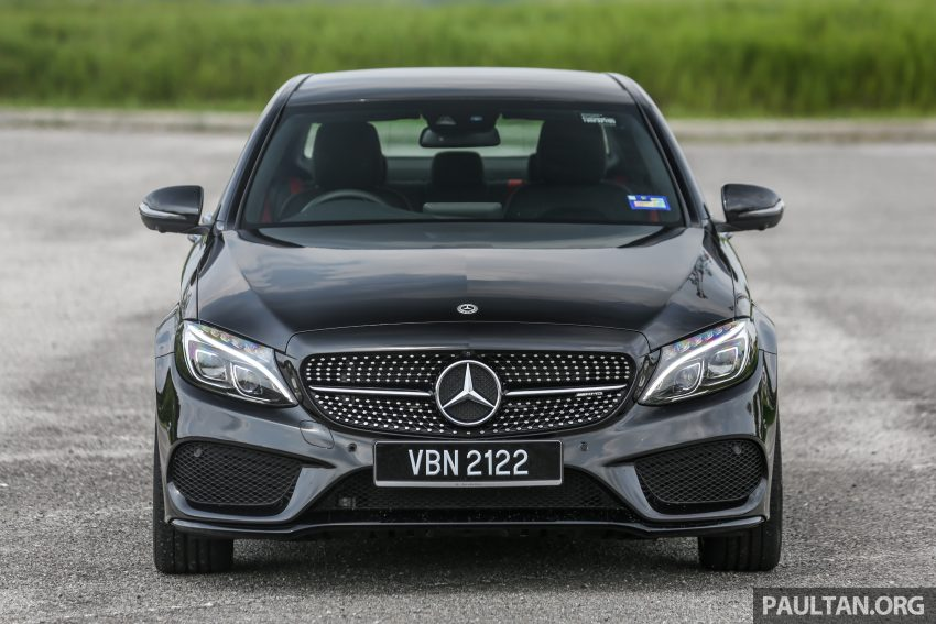 试驾:Mercedes-AMG C 43 / GLC 43,如假包换的 AMG Image #76063